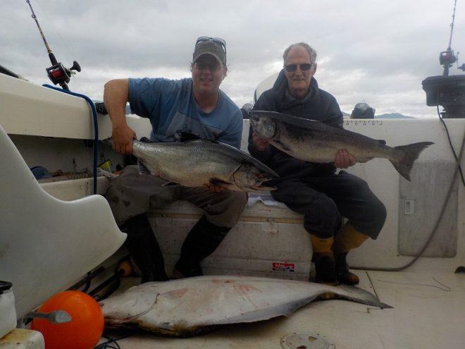 Salmon & Halibut Fishing Charter Port McNeill