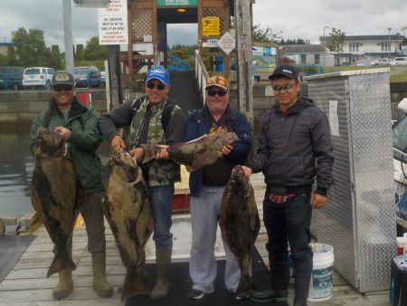 All Inclusive halibut fishing trip from Port McNeill