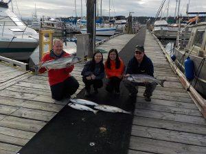 Salmon Fishing Port McNeill