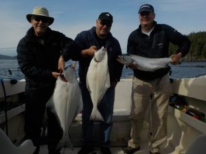 Fishing Port McNeill Halibut, Chinook Salmon