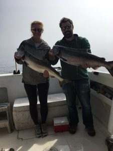 couple limits out while Salmon Fishing