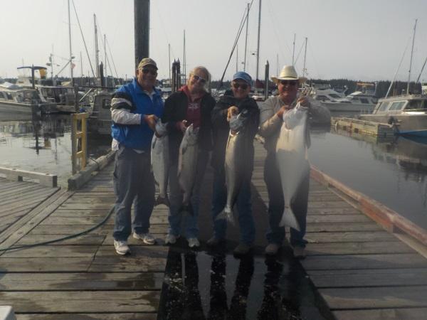 Vancouver Island Salmon and Halibut fishing