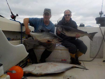 Salmon Fishing Charter Vancouver island