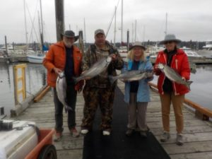 Great Salmon Fishing Port McNeill