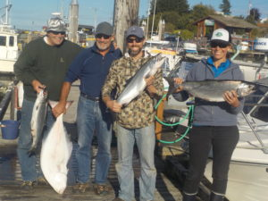 All-Inclusive Port McNeill Halibut & Salmon Fishing