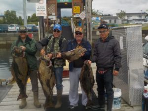 Catch Huge BC Halibut